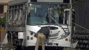 Bombs targetted two buses carrying navy personnel