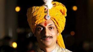 O príncipe indiano Manvendra Singh Gohil.