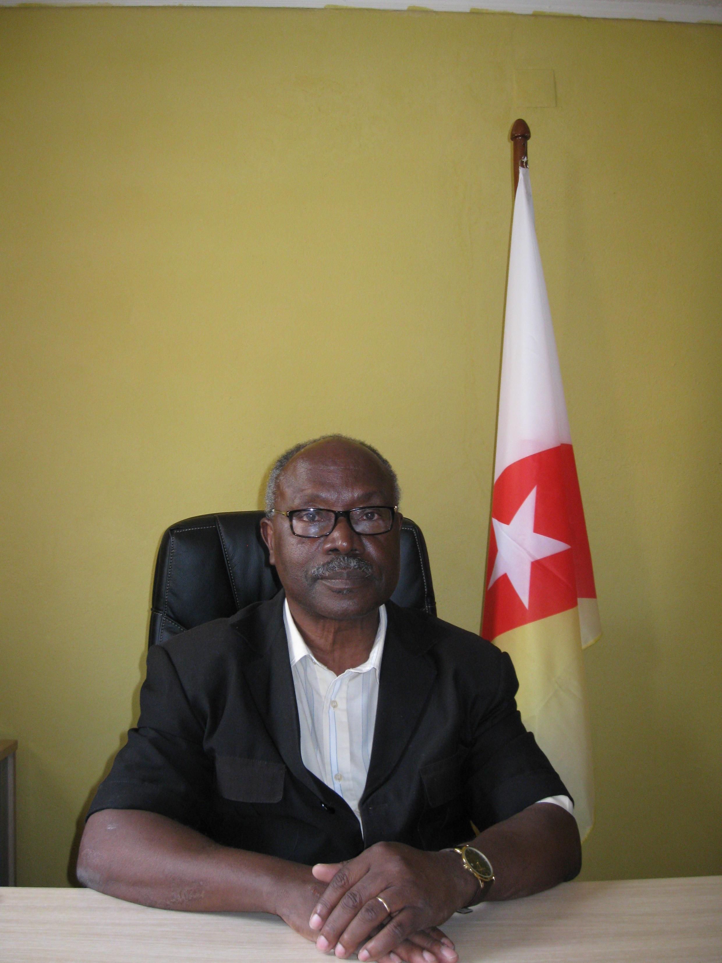 Lucas Ngonda, presidente do FNLA em Angola