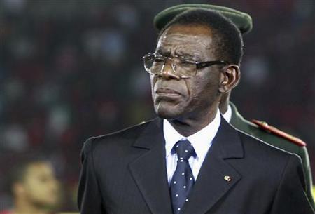 Rais wa Equatorial Guinea Teodoro Obiang Nguema Mbasogo.