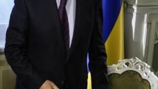 O primeiro-ministro da Ucrânia, Mykola Azarov