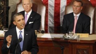 Obama anunciou nesta quinta-feira um plano de 447 bilhões para gerar empregos nos EUA