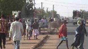 The Niger capital Niamey