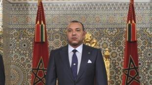 Le roi Mohammed VI, en juillet 2011.