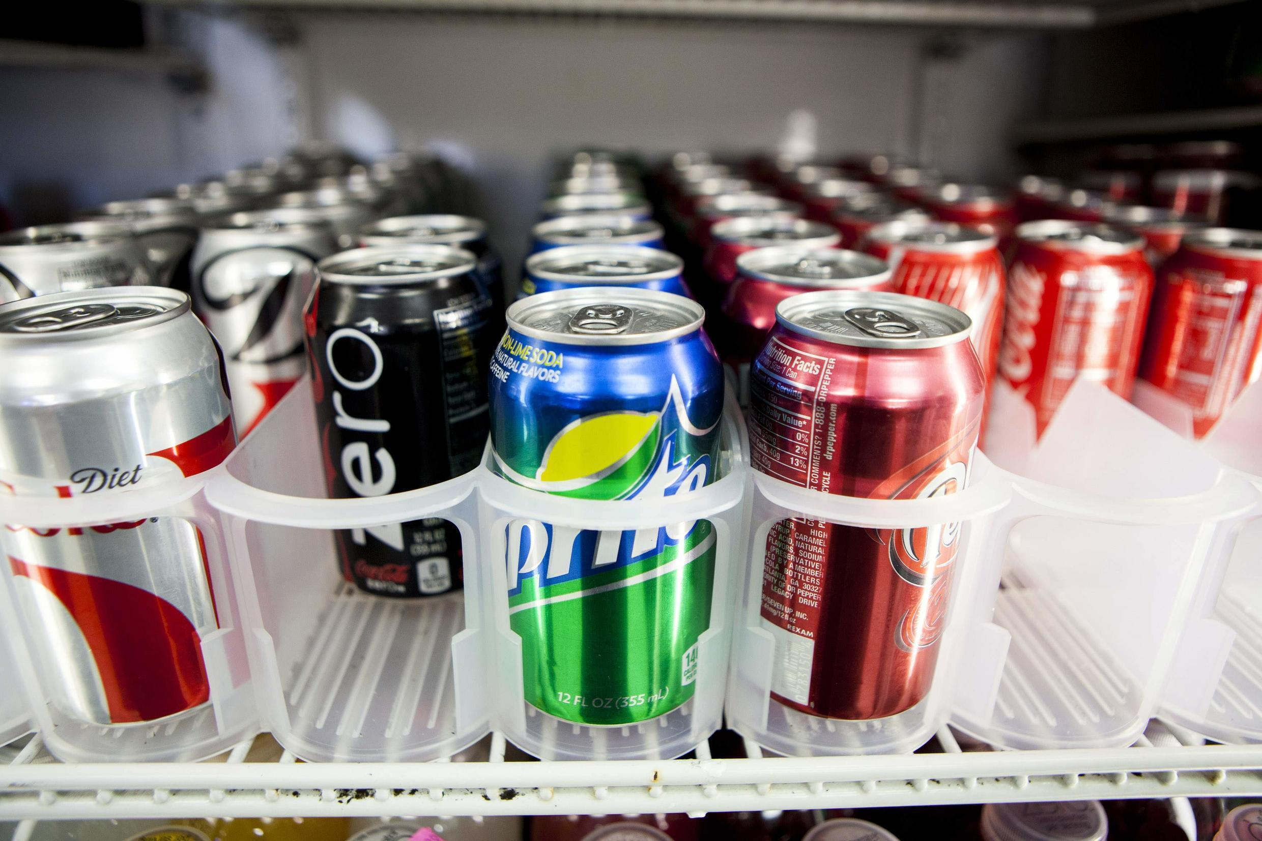 Sugary beverages sold in California would be required to carry warning labels for obesity