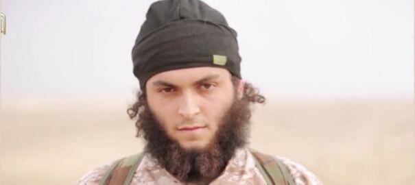 Foto de arquivo do jihadista francês Michael dos Santos, identificado pelas autoridades em vídeos do grupo Estado Islâmico.