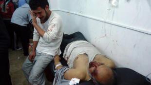 De nombreux blessés syriens affluent vers les hôpitaux libanais.