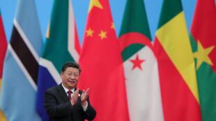资料图片:中国国家主席习近平在北京出席中非合作论坛。摄于 2018年9月4日