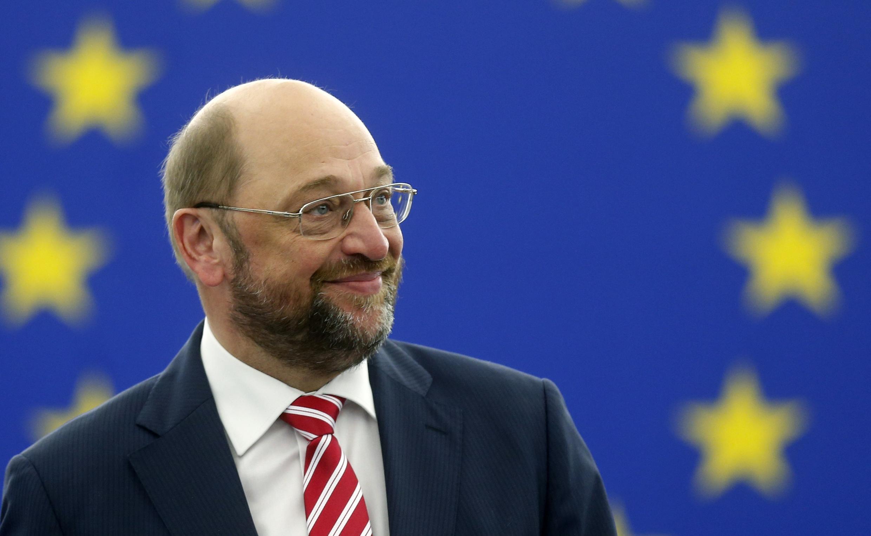 Como era esperado, o alemão Martin Schulz foi reeleito nesta terça-feira (1°) presidente do Parlamento Europeu, em Estrasburgo.
