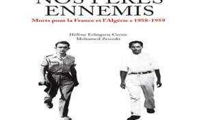 Couverture du livre de Hélène Erlingsen et Mohamed Zerouki: « Nos pères ennemis » publié aux éditions Privat.