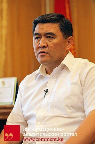Бывший министр чрезвычайных ситуаций Киргизии, глава оппозиционной партии «Ата-Журт» Камчибек Ташиев