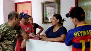 Cubanos llegan al albergue Cáritas en Ciudad de Panamá, el pasado 13 de enero de 2017.