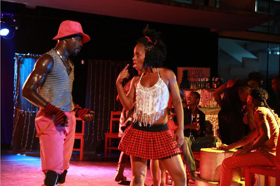 « La Rue Princesse », spectacle de danse de la compagnie N'Soleh au Masa.