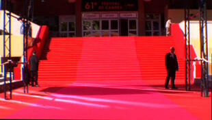 At the Cannes film festival