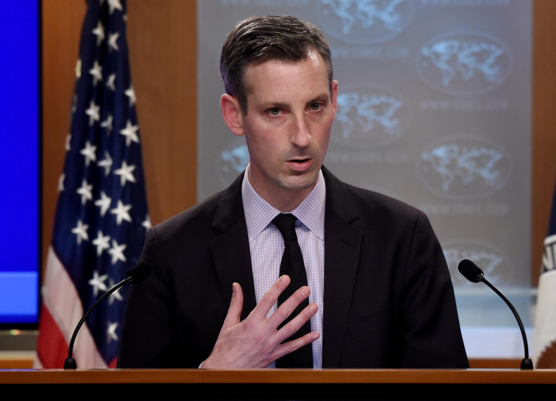 U.S. State Department spokesman Ned Price