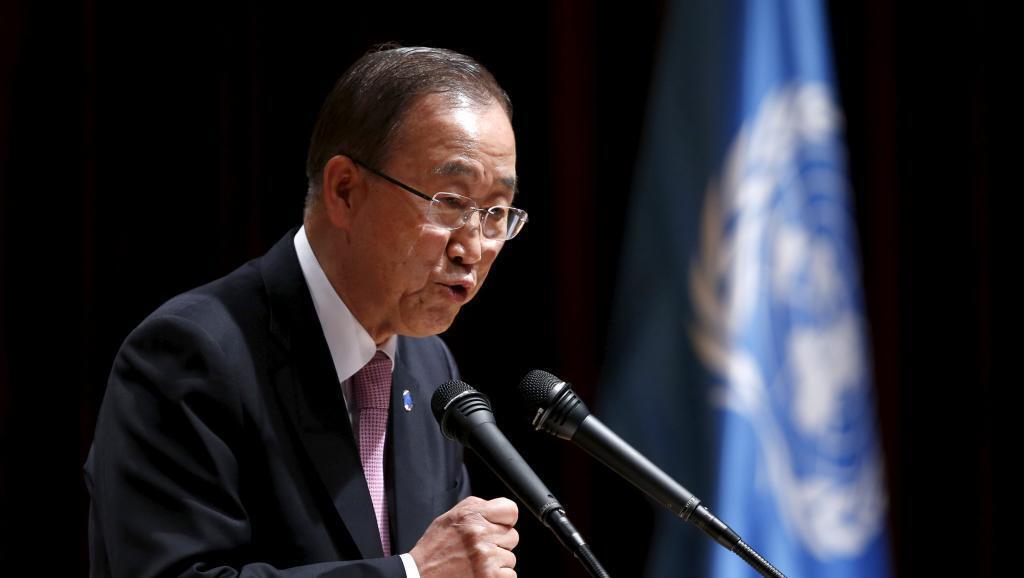 """Ban-Ki-moon """" nina imani kwamba wiki hii itakua mwanzo wa mwisho wa mapigano""""."""