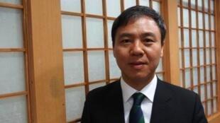 Kim Seung Su, maire de Jeonju, la 7e ville de Corée du Sud.