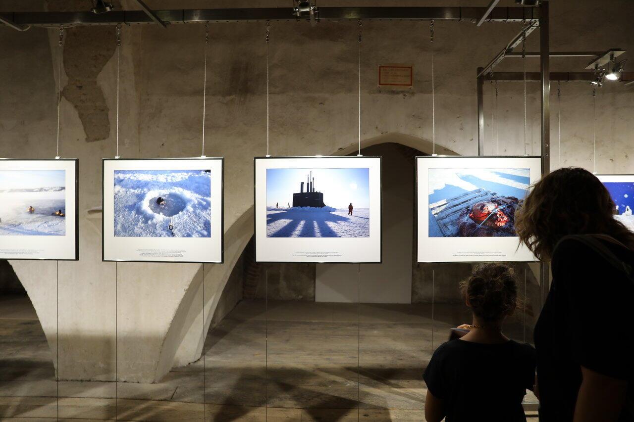 «Le Réseau d'alerte avancé», une exposition signée Louie Palu dans le cadre du festival Visa pour l'image 2019 à Perpignan.