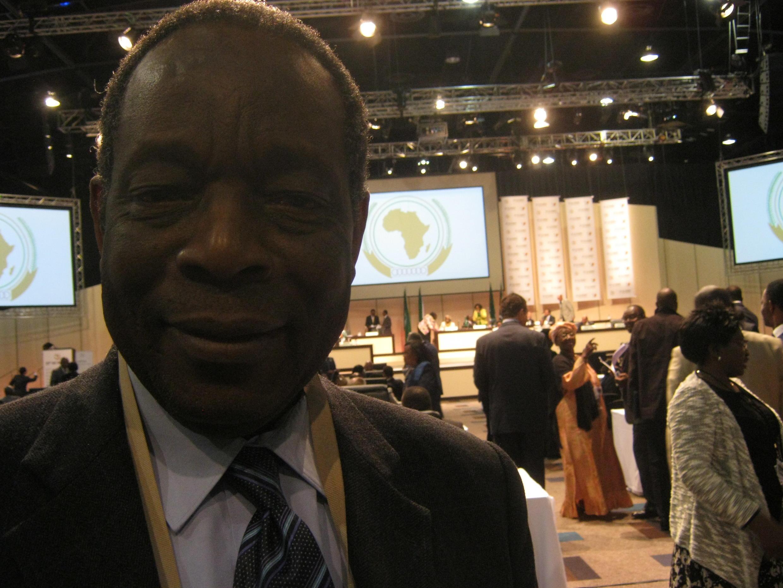 Francisco Madeira, chefe da missão da União Africana na Somália - AMISOM
