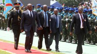 L'ex-président de RDC, Joseph Kabila, lors de la cérémonie d'investiture de son successeur Félix Tshisekedi, à Kinshasa, le 24 janvier 2019. (Photo d'illustration)