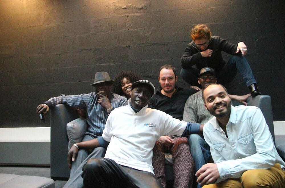 Kora Jazz Band, Pierre Aderne, Philippe Baden Powell et Laurence Aloir.