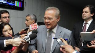 Renan Calheiros, président du Sénat brésilien.