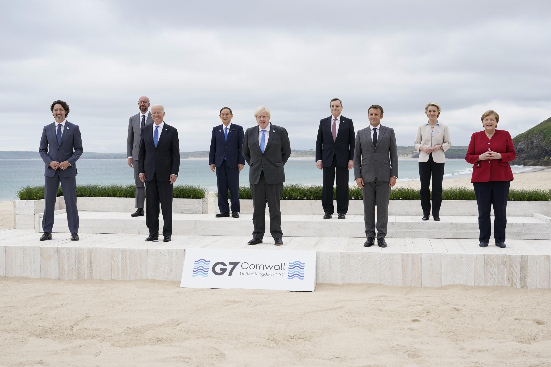 "Hooreeɓe  G7 Natal ɓeynguure dental ngal. "" Carbis Bay, "" Beretaniya 11 6ɓuru  2021."