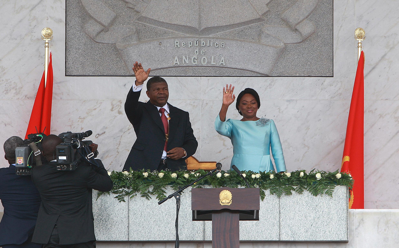 João Lourenço - Ana Dias Lourenço - Angola - Presidente - Angolano - Primeira-dama
