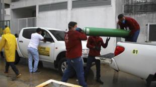 Covid-19 au Brésil: alerte à la pénurie d'oxygène dans les hôpitaux de Manaus
