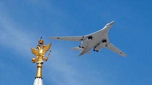 Ảnh minh họa : Oanh tạc cơ chiến lược TU-160 của Nga.