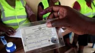Cartão de eleitor Guiné-Bissau