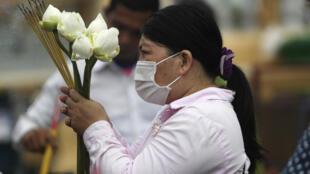 Virus Outbreak Cambodia Daily Life