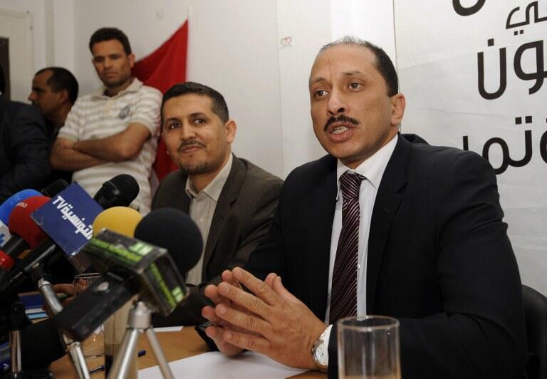 Mohamed Abbou à Tunis le 15 mai 2012.