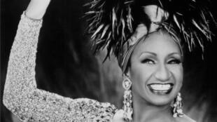 La cantante Celia Cruz (1925 - 2003).