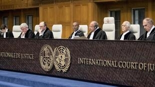 Session of the  International Court of Justice