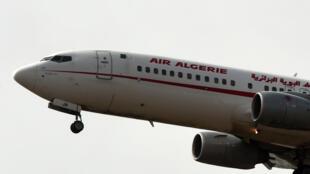 Samfurin Jirgin Air Algerie da ke jigila a Algeria