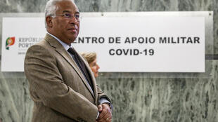 António Costa, Primeiro-ministro de Portugal. Lisboa, 30 de Março de 2020.