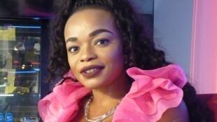 La cantante guineo ecuatoriana Nuria Nchama