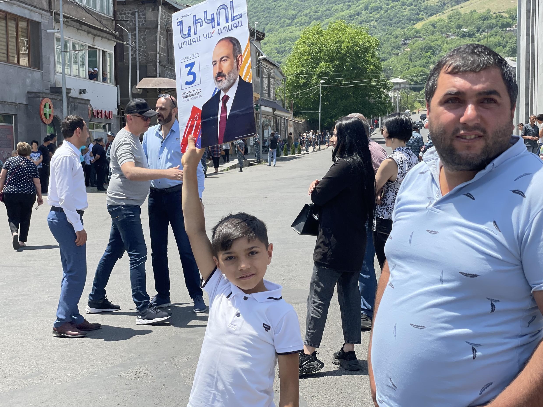Предвыборная кампания в Сюникской области Армении