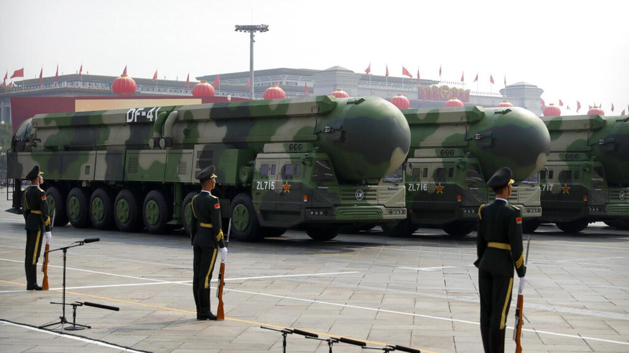 NATO na kokarin hana China fadada karfinta na nukiliya