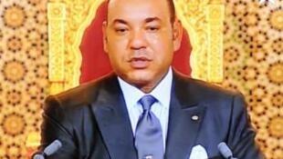 摩洛哥国王穆罕默德六世。