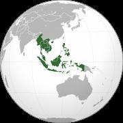 图为维基百科东南亚地图