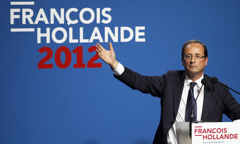 François Hollande venceria as eleições com 59% dos votos, diz pesquisa.