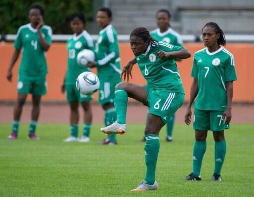 Les Nigérianes ont préparé leur Coupe du monde à Heidelberg.
