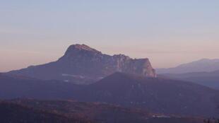 Le pic de Bugarach, dans l'Aude.