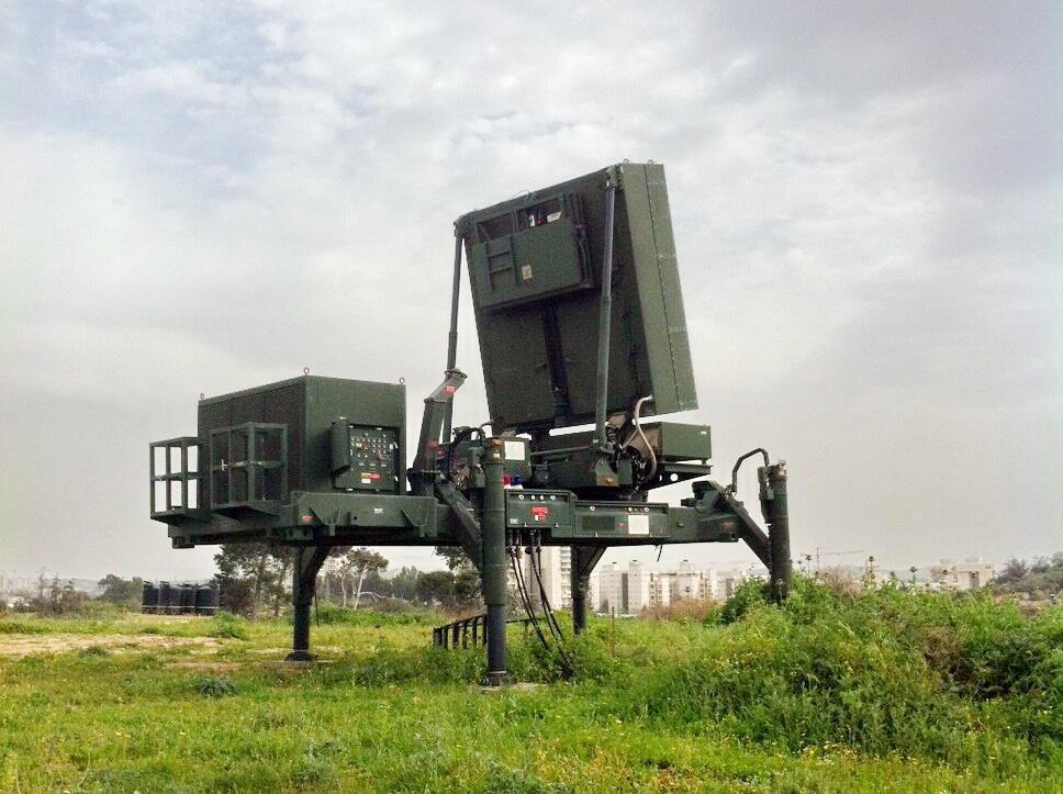 Radar Elta EL / M-2084 cho hệ thống tên lửa đất đối không Vòm Sắt.
