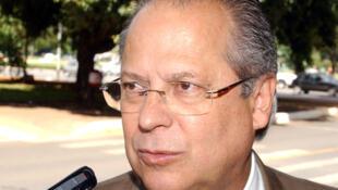 O ex-ministro da Casa Civil José Dirceu.