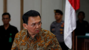 Basuki Purnama, the ethnic Chinese Christian governor of Jakarta commonly known as Ahok, was voted out of office Wednesday with polls showing 55 to 60 percent of votes for his Muslim challenger, former education minister Anies Baswedan.
