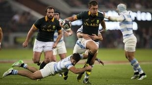 Handre Pollard was deemed to be among the poor performers during South Africa's 37-25 defeat to Argentina.