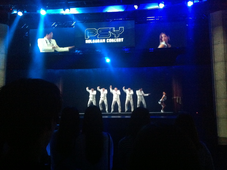 Concert à Séoul.